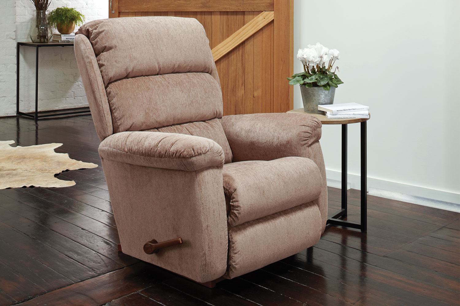 Lazy Boy Fabric Recliner Chairs