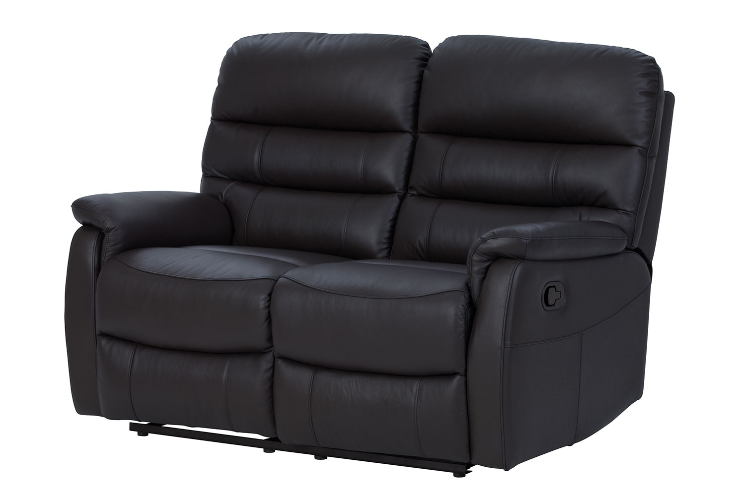 modena 2 seater reclining leather sofa huge luna recliner by vivin harvey