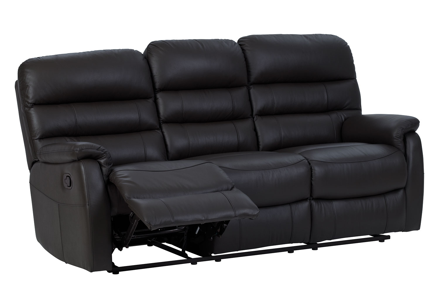 leather recliner chairs harvey norman folding chair on amazon 3 seater sofa luna