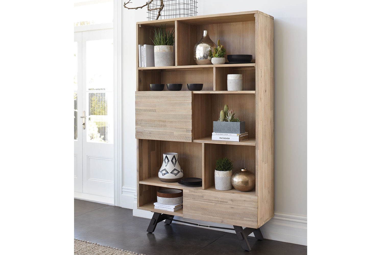Bari Bookshelf By John Young Furniture Harvey Norman New
