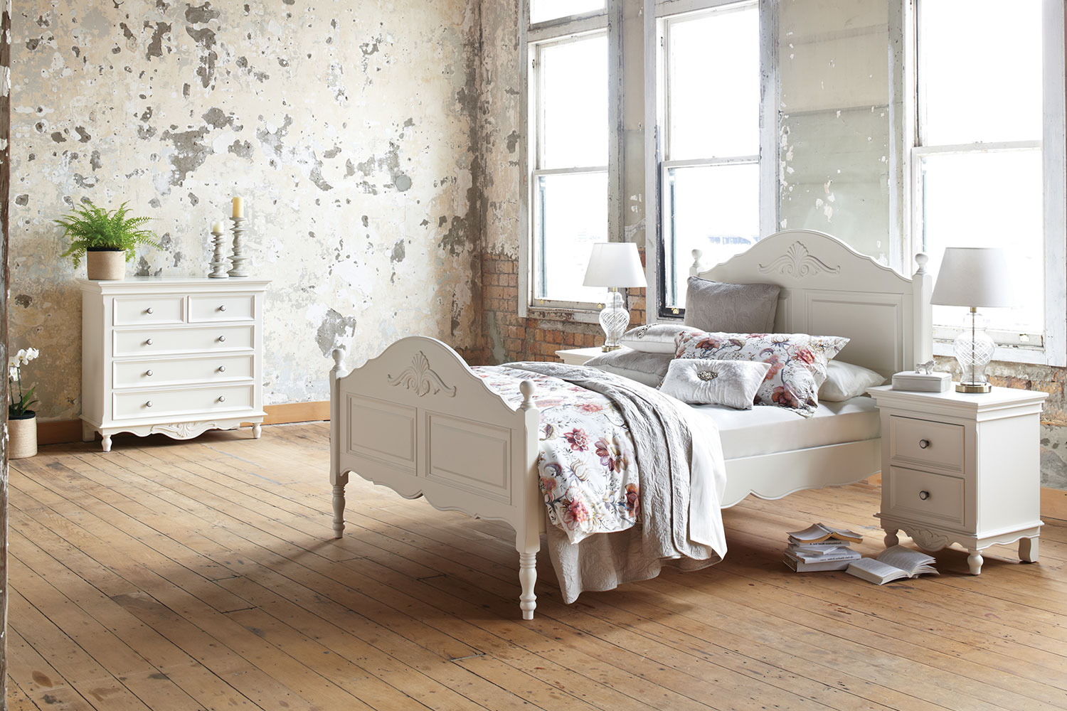 Chambre 4 Piece Queen Chest Bedroom Suite by Garry Masters  Harvey Norman New Zealand