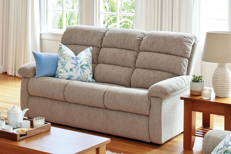 Rapids 3 Piece Fabric Recliner Lounge Suite La-boy