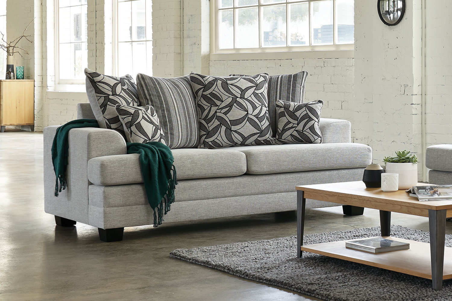 rolled arm sofa nz italian leather sofas south africa evolution 2 piece fabric lounge suite by white rose