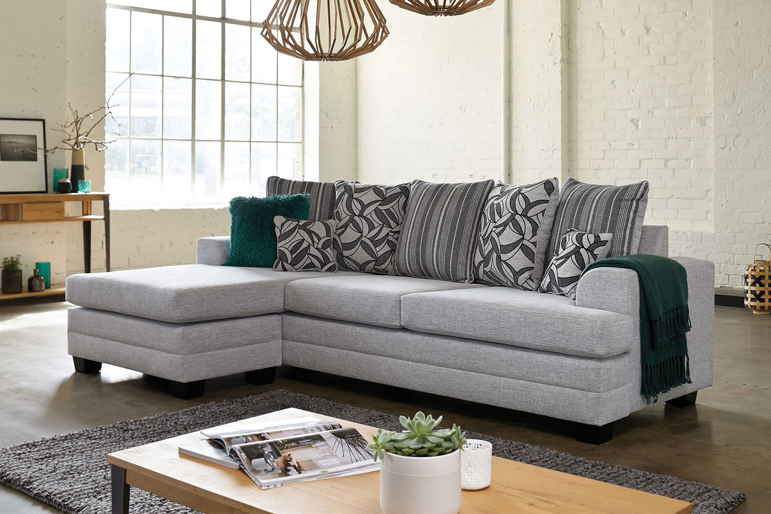 3 seater fabric sofa benchcraft and loveseat set evolution with chaise by white rose furniture harvey norman new zealand
