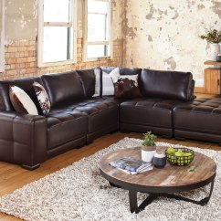 Pu Leather Sofa Bed Melbourne Custom Sectional Dallas Modular Lounge With Waverley Furniture Mart Chair