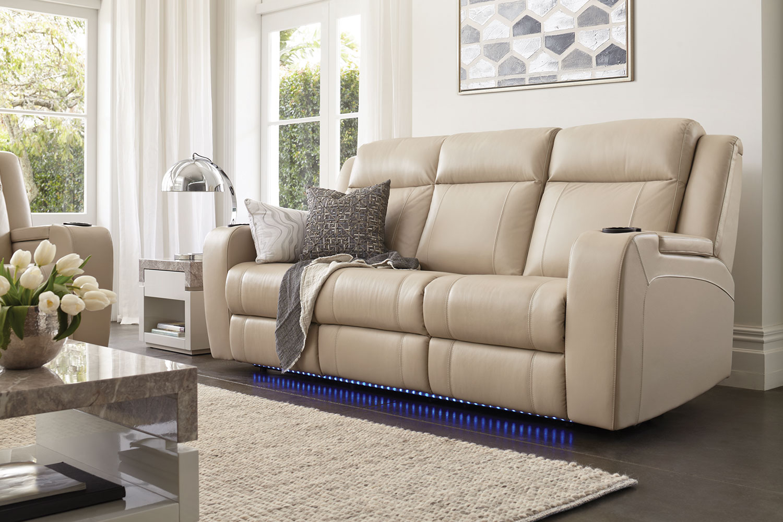leather recliner chairs harvey norman shark bean bag chair marina 3 seater sofa by synargy