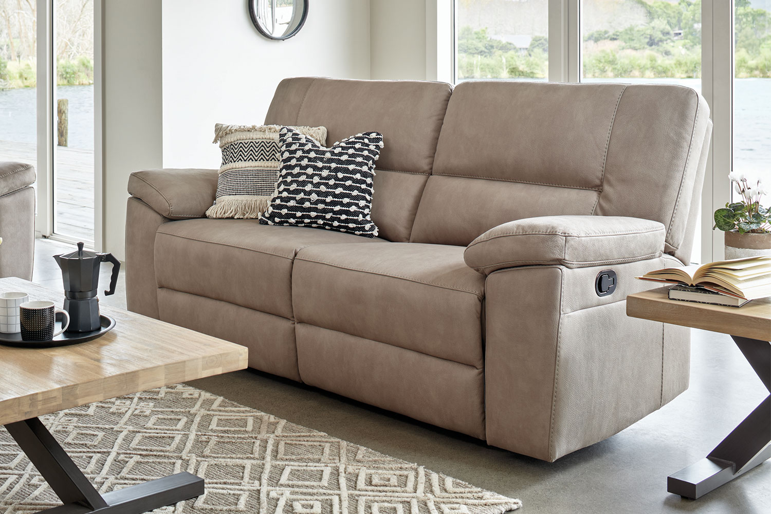 2 seater sofa new zealand ashley furniture and loveseat jenson 5 fabric by synargy harvey norman