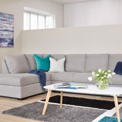 Four Seat Sofa With Chaise White Leather Bed Sleeper Adjule Arms Neptune 4 Seater Fabric Harvey Norman