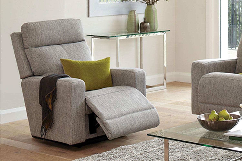 Jax Fabric Recliner Chair La-boy Harvey Norman