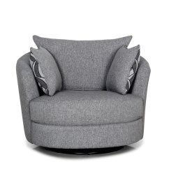 Swivel Chair Harvey Norman Convertible High To Table And Greystone Small Fabric New