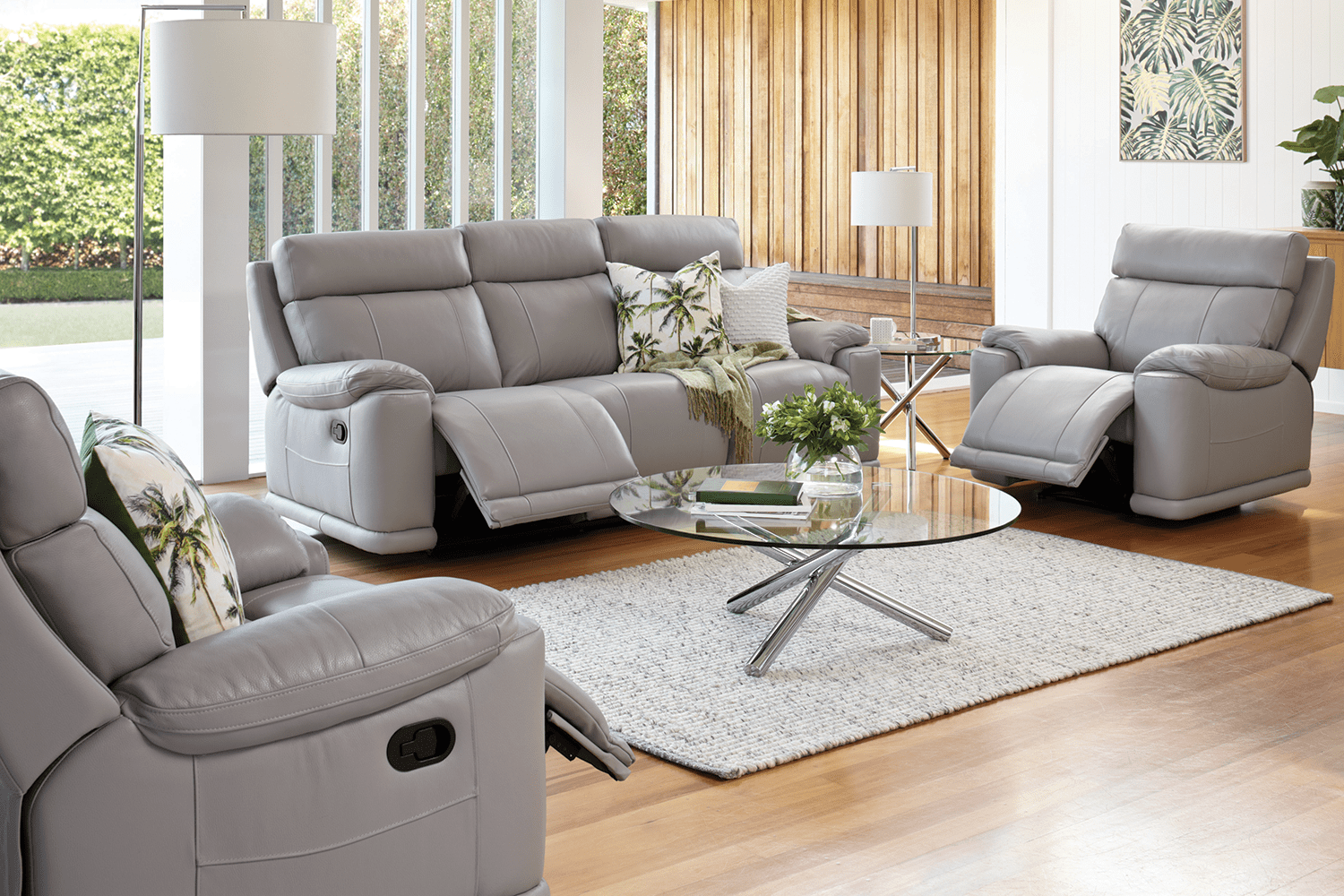 chocolate brown leather sectional sofa with 2 storage ottomans sleeper next day delivery lounge suites couch ottoman packages harvey norman new huntingdon 3 piece suite