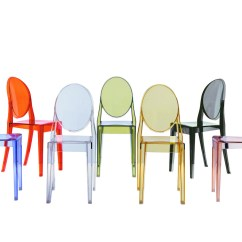Victoria Ghost Chair Minnie Mouse High Walmart By Philippe Starck For Kartell Space Furniture