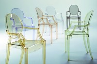 Louis Ghost Chair with Arms by Philippe Starck for Kartell ...