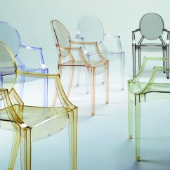 Philippe Starck Ghost Chair Inada Sogno Dreamwave Massage Louis With Arms By For Kartell