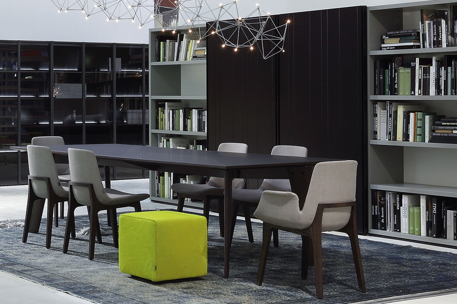 Howard by JeanMarie Massaud for Poliform  Space Furniture
