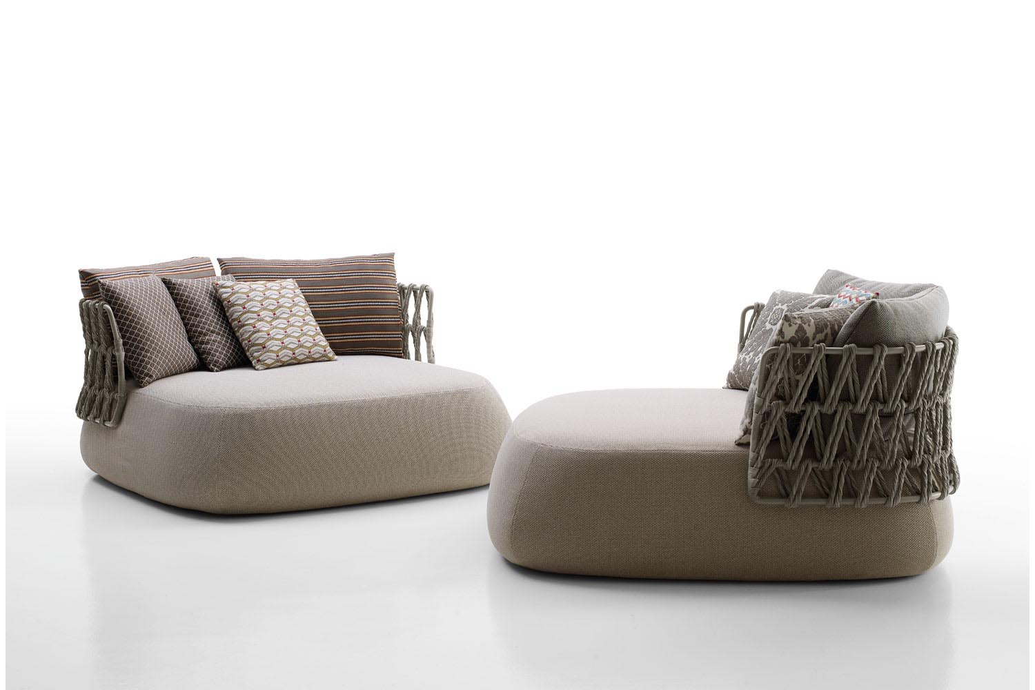 outdoor sofa singapore grey and yellow sets fat by patricia urquiola for b andb italia
