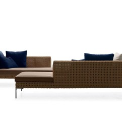 Outdoor Sofa Singapore Wooden For Sale Charles By Antonio Citterio B Andb Italia