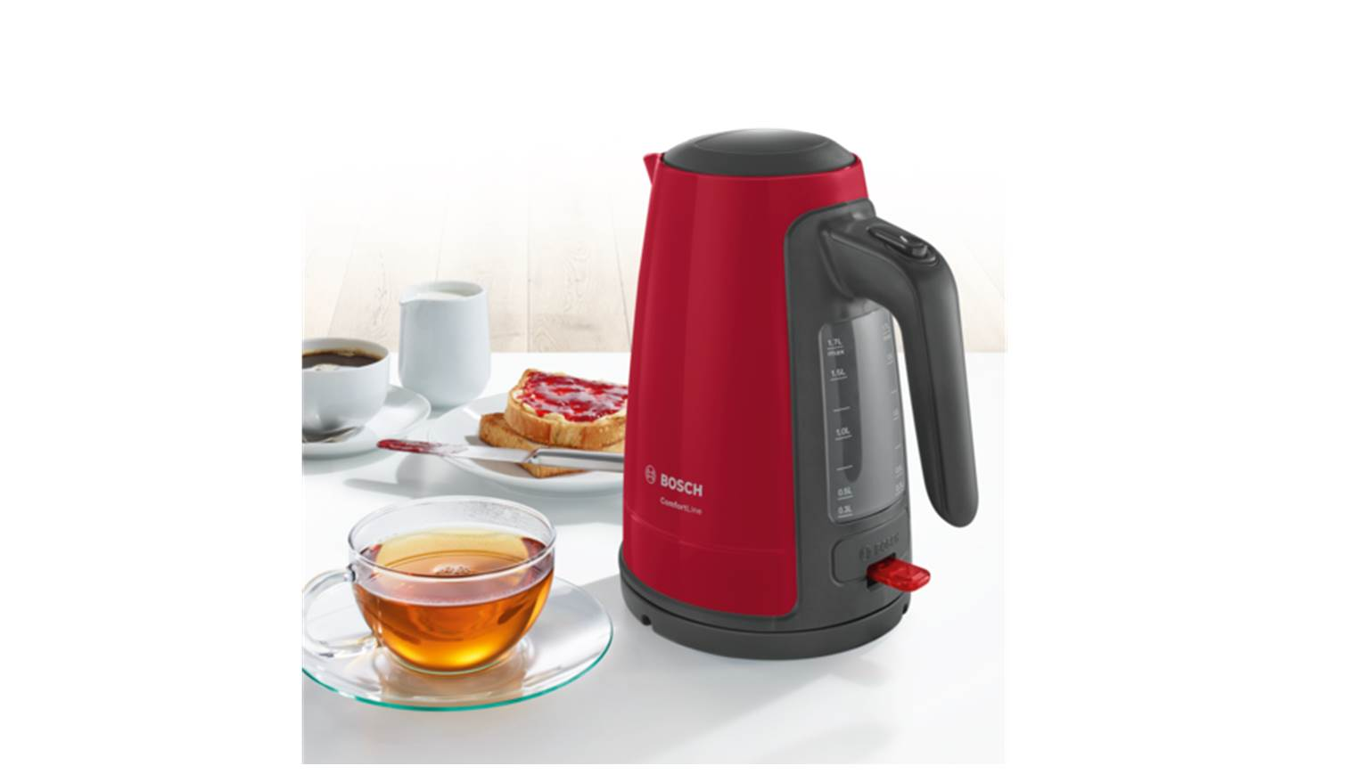kitchen appliances pay monthly free cabinet plans bosch twk6a014 kettle jug red harvey norman singapore