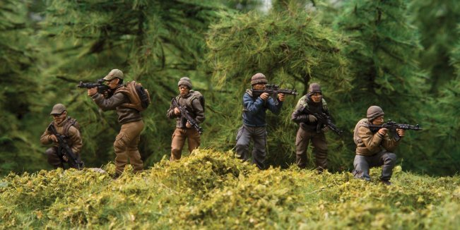 New Deniable Ops figures - Picture from Spectre Miniatures.