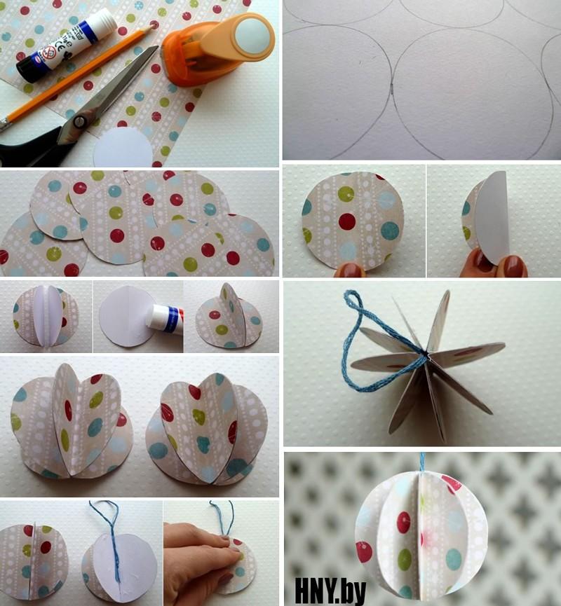 Новогодние украшения для елки из бумаги: делаем поделки вместе с детьми