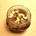 ナッツのメープル漬け♪簡単な作り方と栄養について