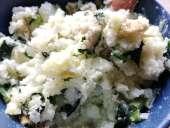 ほうれん草のポテトサラダ