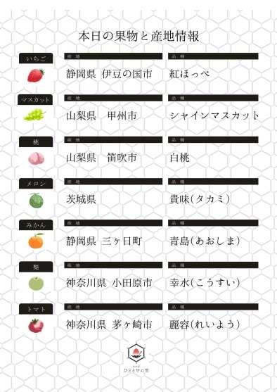 小田原ひととせの雪果物産地