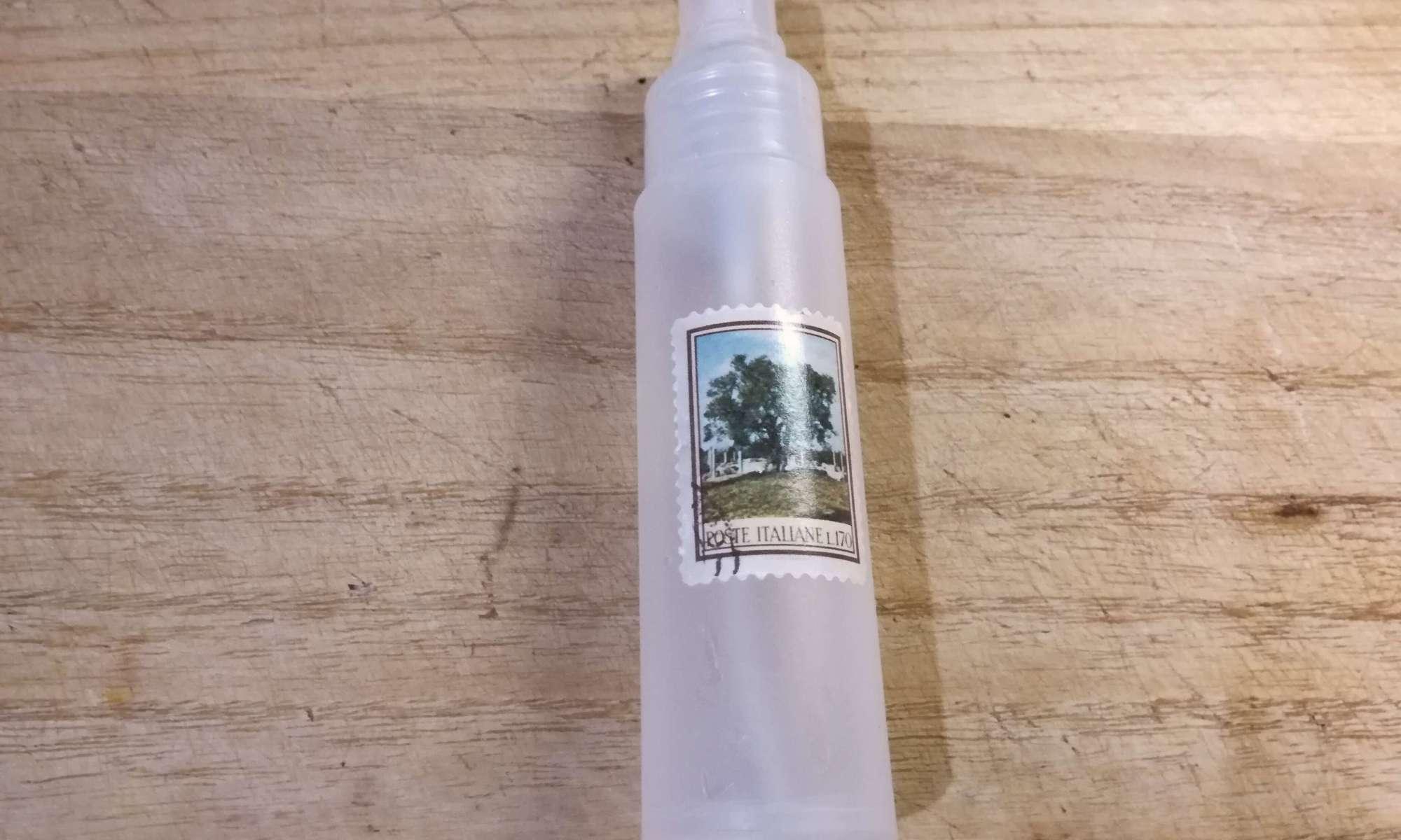 手作り化粧水とボトル