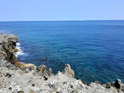 辺戸岬の海