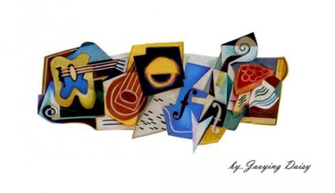Juan Gris 125th Birthday โลโก้ google วันนี้ เห็นยัง?