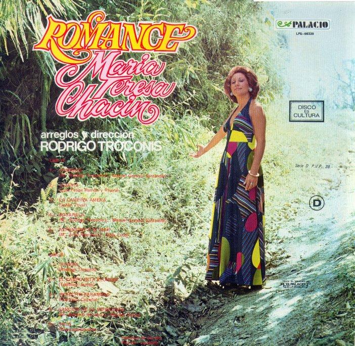 María Teresa Chacín – Romance – 1973 (2/2)