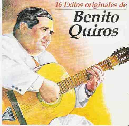Benito Quiros - 16  Éxitos originales - 1992  (1/2)