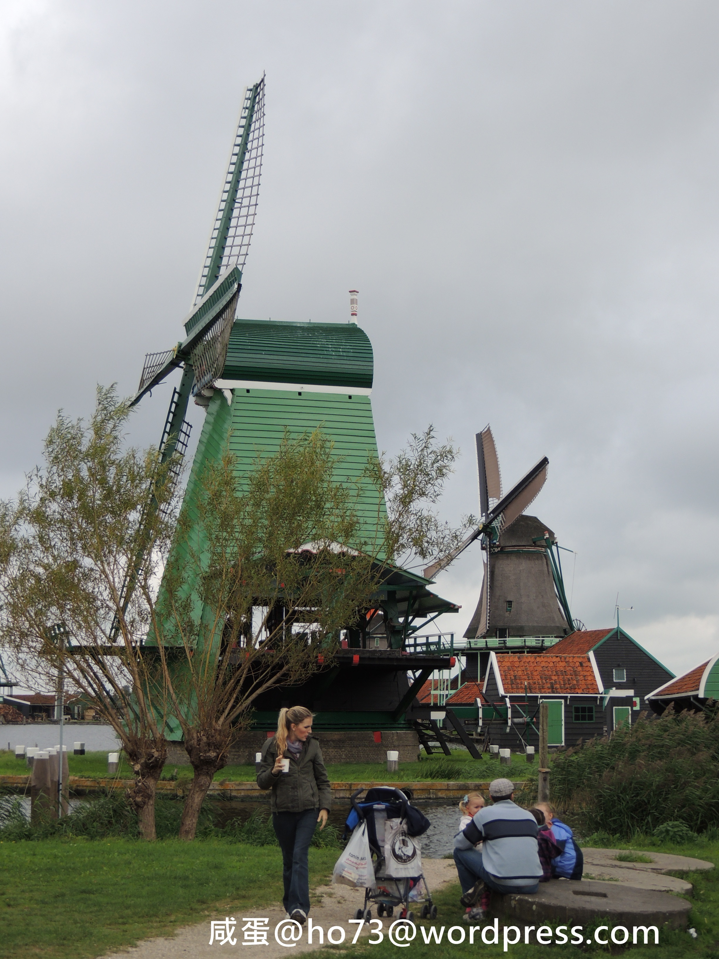 帶媽媽去旅行:荷蘭第2天 風車村+馬肯漁港 | 咸蛋salt egg