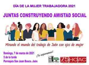 JUNTAS CONSTRUYENDO AMISTAD SOCIAL