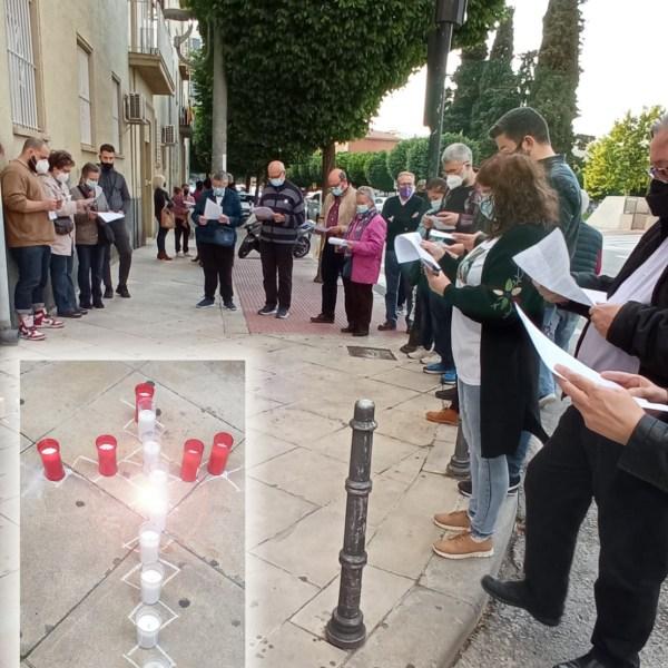 MILITANTES OBREROS CRISTIANOS HAN HONRADO LA MEMORIA DE CATORCE OBREROS FALLECIDOS EN ACCIDENTE LABORAL EN EL DÍA MUNDIAL DE LA SEGURIDAD Y SALUD EN EL TRABAJO.