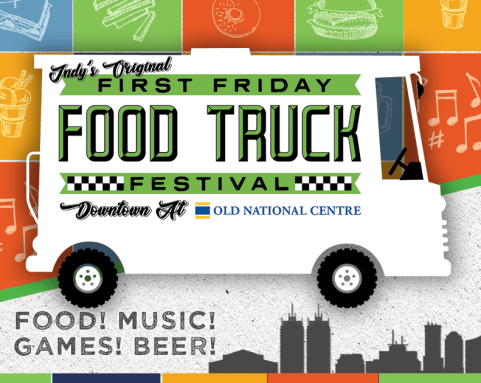 First Friday Food Truck Festival promo image