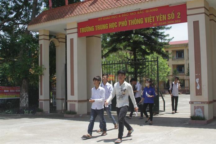 THPT Việt Yên - Bắc Giang