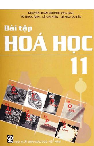 sách bài tập hóa 11