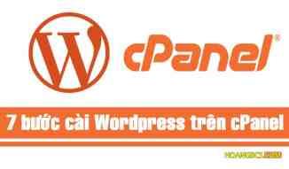 Cài WordPress dễ như ăn kẹo trên host cPanel