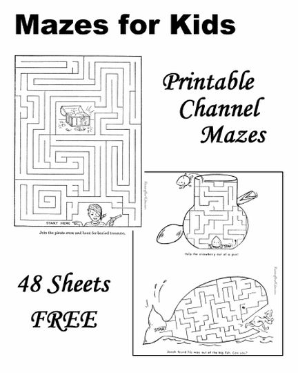 printable mazes for 5 year olds