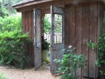 Midtown Atlanta garden tour - exit