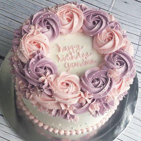 hình hoa và bánh sinh nhật