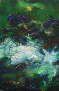 Layers-acrylic, 40x30, 2009