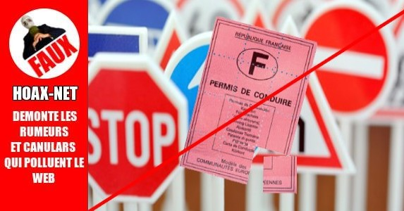 Pas de retrait de point pour les anciens  permis de conduire Français