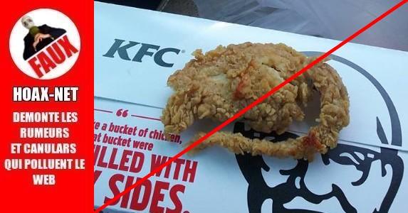 Le rat frit de KFC