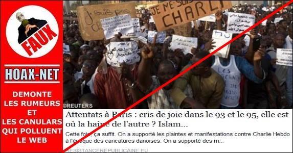 Attentats à Paris : cris de joie dans le 93 et le 95, elle est où la haine de l'autre ? Islam dehors !
