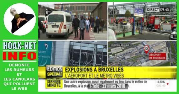 Attentats à Bruxelles : fausse vidéo, bandeau erronné, dérapages sur Twitter, Bavures ordinaires du temps réel !