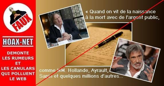 Une fausse lettre pour deux Gérard
