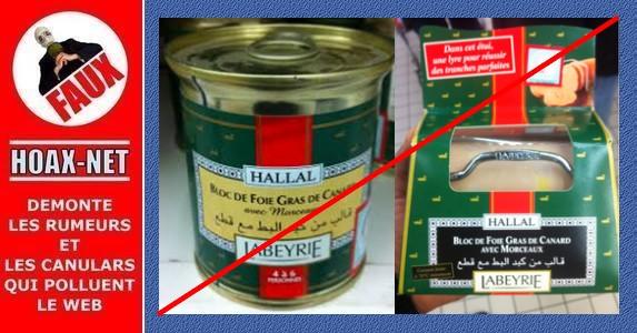 Non, les musulmans n'ont pas demandé de changer la recette du foie gras «Labeyrie» !