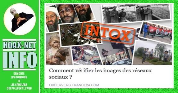 Pour INFO : Comment vérifier les images des réseaux sociaux ?
